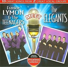 Frankie Lymon & the Teenagers/The Elegants (CD, New ; 1 CENT SHIPPING