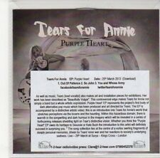 (DL910) Tears For Annie, Purple Heart EP - 2013 DJ CD