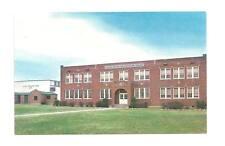 FARMVILLE AR Robert R Moton High School Vtg Postcard Arkansas PC