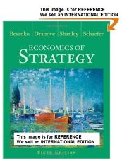 Economics of Strategy by Scott Schaefer, Dr Mark - Int' Edition PaperBack - 6 Ed
