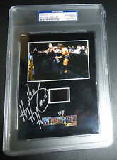 Triple H HHH Signed Wrestlemania 17 Senitype Flim Cell PSA/DNA WWE Autograph WWF
