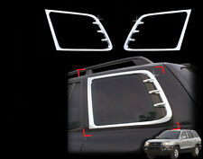 Chrome Window C Pillar Post/Quarter 2P For 01 02 03 04 05 06 Hyundai Santa Fe