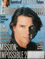 TOM CRUISE 6/2/00 EW Mag X-FILES  SEX AND THE CITY