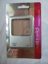 WET N WILD COMPACT MATTIFYING POWDER SHADE GOLD 7G  BN