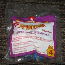 1994 McDonalds Happy Meal Spider-man Webrunner Toy #4