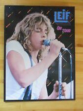 """LEIF GARRETT Tour Program  """"Leif On Tour"""" 1979 Vintage"""