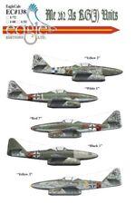 Eagle Cal decals 1/48 Messerschmitt Me 262 As of KG(J) Units # 48138