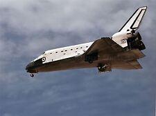 SPACE SHUTTLE ATLANTIS RETURNS EARTH EDWARDS AIR FORCE BASE PRINT POSTER 435PYA