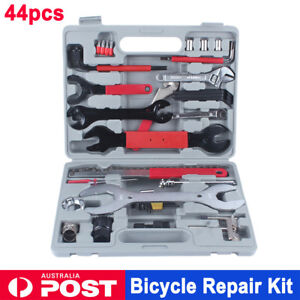 44pcs Bike Cycling Bicycle Maintenance Repair Tool Kit Wrench Chain Whip Set