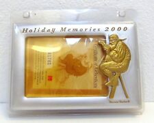 Norman Rockwell Holiday Memories Photo Frame Christmas 2000 Santa Kodak