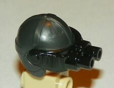 LEGO - Minifig, Headgear Cap w/ Black Night Vision Goggles - Pearl Dark Gray