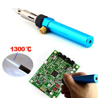 Gas Blow Torch Soldering Solder Iron Gun Butane Cordless Welding Pen Burner UK