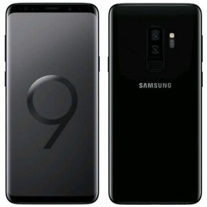 NEW Samsung Galaxy S9 + Plus 256GB Unlocked Network Various Colours Smartphones