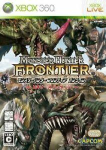 Xbox 360 Monster Hunter Frontier Online Beginner's package JP