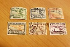 Thailand #C1, C4, C10, C13,C14 Air Mails, Mnh And Used Stamps