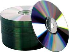 100 pcs 52X Shiny Silver Top Blank CD-R CDR Recordable Disc Media 700MB 80Min