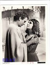 Richard Burton Elizabeth Taylor VINTAGE Photo Cleopatra