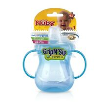 Nuby Grip N' Sip Two-Handle 10 oz Soft Spout, Colors May Vary 1 ea