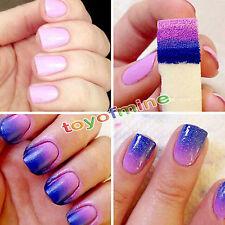 Stamping Tampon Éponge Stamp Pochoir Template Vernis à Ongle Gel Image Nail Art