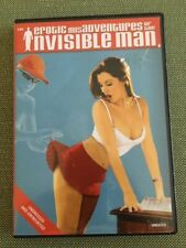 Erotic misadventures of the invisible man, Rare, DVD