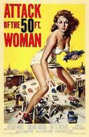 Attack of the 50 Foot Woman Movie POSTER 11 x 17 Allison Hayes, William Hudson A