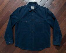 Steven Alan Cotton Jacket / Shirt - Navy - Size L - New w/Tags