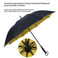 Audi Umbrella Parasol Windproof Anti UV Clear//Rain Business Automatic Folding