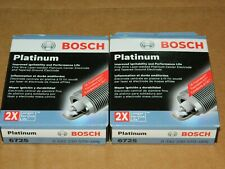 (8) BOSCH 6725 PLATINUM SPARK PLUGS FOR DAKOTA DURANGO RAM 1500 RAIDER ASPEN