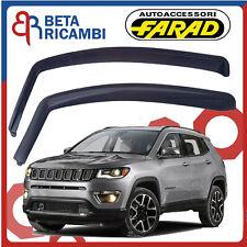 Deflettori Aria Per Jeep Compass 5 Porte 2017> Antivento Antipioggia Fumè 14195M
