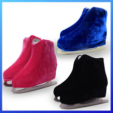 Shoes Cover for Ice Figure Skating Roller Skate Thermal Flannelette Elastic