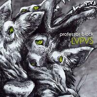 PROFESSOR BLACK - LVPVS   CD NEW