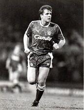 ORIGINALE stampa foto Liverpool jan molby 1989
