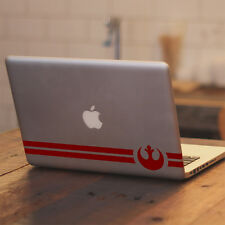 "Star Wars Rebel Alliance Symbol Design for Macbook 11 13 15"" Vinyl Decal Sticker"