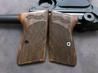 WALTHER PPK/S  WALNUT WOOD GRIPS/GRIP GERMAN PPK/S & SMITH & WESSON  AAZ