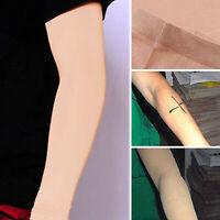 1 piel brazo tatuaje cubrir manga larga corrector UV proteger deporte gimnasio
