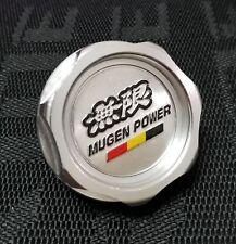 JDM SILVER MUGEN ENGINE OIL CAP HONDA ACURA INTEGRA MDX CIVIC ACCORD CRX S2000