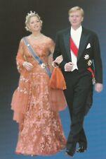 ***ORIGINAL POSTCARD***KÖNIGIN MAXIMA-KÖNIG WILLEM-ALEXANDER-Oranje-Monarchie