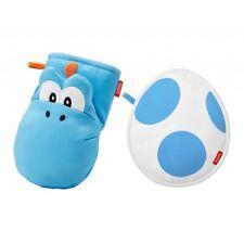 Super Mario Home & Party Light Blue Yoshi Oven Mitt & Pot mat Set Gift