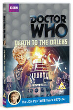 Doctor Who: Death to the Daleks DVD (2012) Jon Pertwee ***NEW***