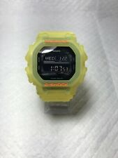 Casio G-Shock GX56 Frosted Neon Yellow (Customized)Tough Solar