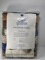 Vintage Quilt TEDDY BEAR Patchwork Friends AVON Gift Collection GIFT NIP 1999