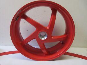 Ducati Marchesini 5 spoke rear wheel RED 50221071AE Monster S4R 748 916 996 998