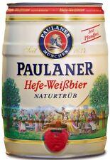 Paulaner Hefe-Weissbier Naturtrüb 5,5 % vol 5 Liter Partyfass EINWEG 3,35€/L