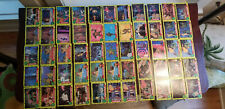1989 Topps Teenage Mutant Ninja Turtles Trading Cards, 62 cards Excellent/Nrmt