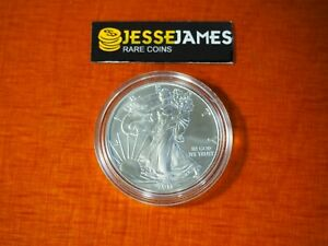 2011 S SILVER EAGLE FROM THE 25TH ANNIVERSARY SET ONE COIN IN CAP