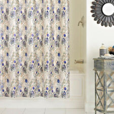 """Peacock Excell Cleo PEVA Shower Curtain Multicolor 72x72"""""""