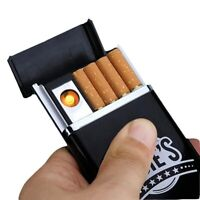 USB Lighter Rechargeable electronic Windproof Flameless Smoking Portable Light