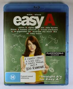 Easy A Blu Ray FREE POST
