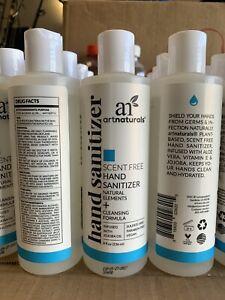 Art Naturals Hand cleaning formula Scent Free - 8 fl oz Per Bottle (Pack of 5)