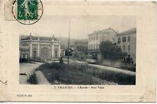 CARTE POSTALE / VALLAURIS L'ENTREE PONT VIEUX / TRAMWAY
